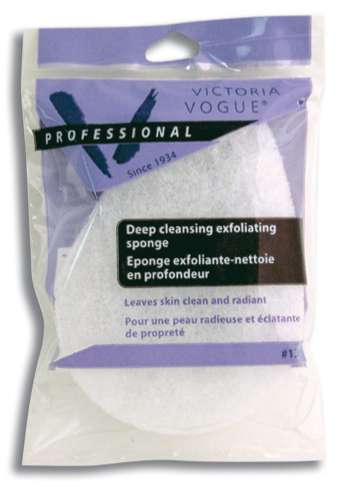 Victoria Vogue Tear-shaped Exfoliating Sponge