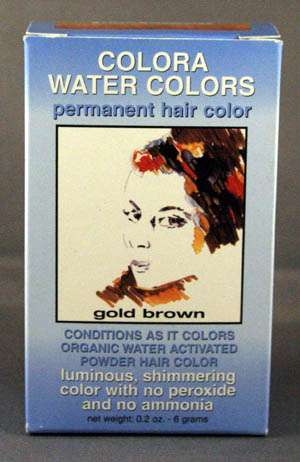 Colora Water Colors - Permanent Hair Color