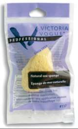 Victoria Vogue Nat Sea Silk Sponge Applicator Sized